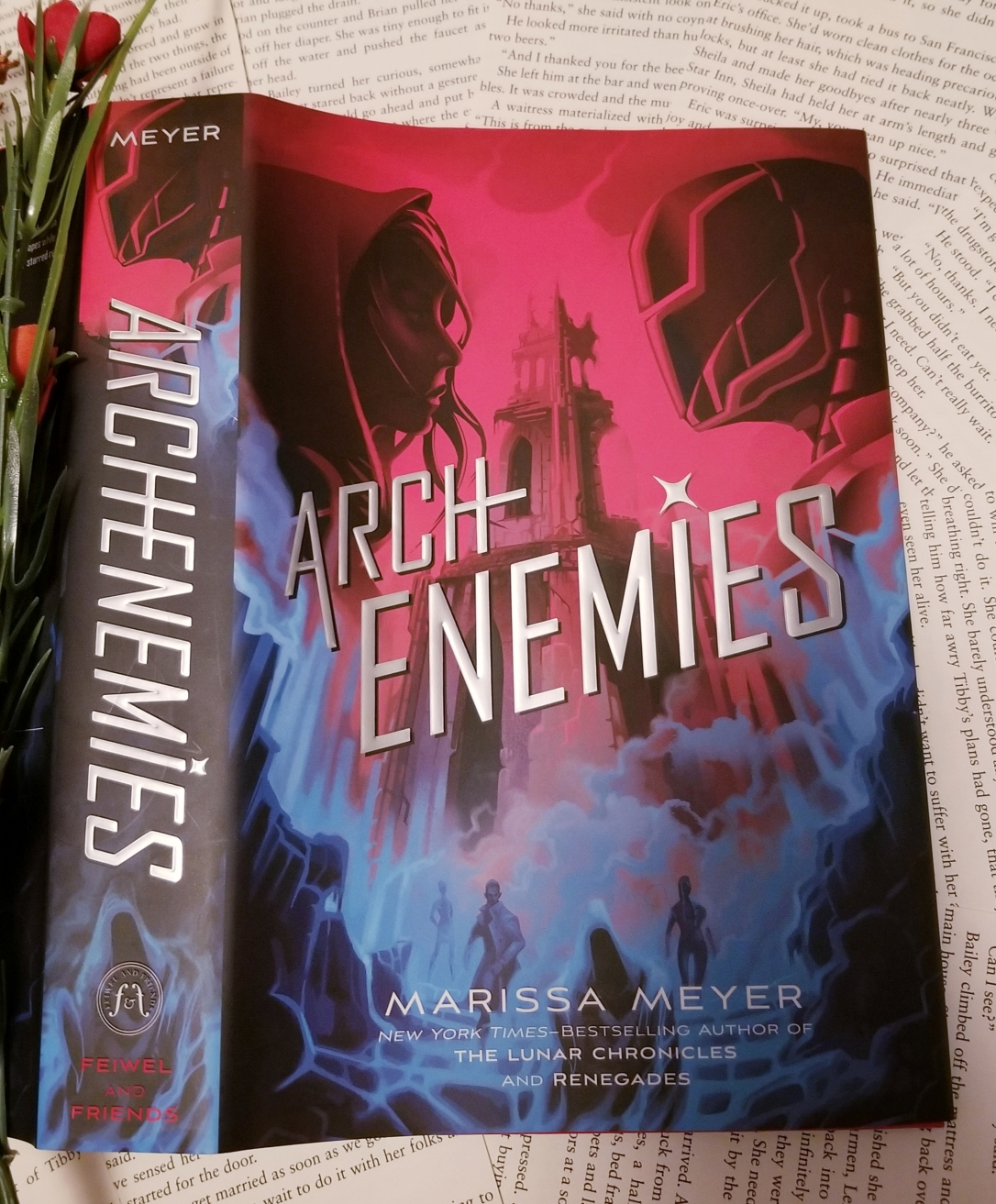 How To Review Book You Havent Read >> Book Review Archenemies By Marissa Meyer Spoilers For Renegades